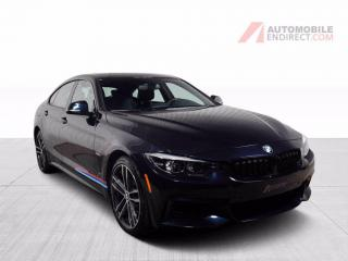 Used 2018 BMW 4 Series 440i xDrive GC M-Performance Cuir Toit GPS Caméra for sale in St-Hubert, QC