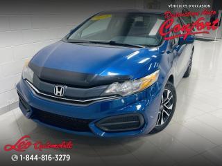 Used 2014 Honda Civic 2 portes, boîte manuelle EX for sale in Chicoutimi, QC