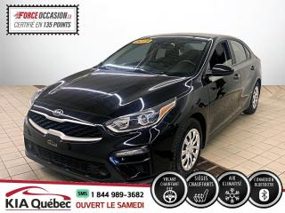 Used 2019 Kia Forte LX * IVT * SIEGES CHAUFFANT * CARPLAY* for sale in Québec, QC