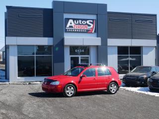 Used 2009 Volkswagen City Golf A/C + SIÈGES CHAUFFANTS + FREINS AVANT NEUFS for sale in Sherbrooke, QC