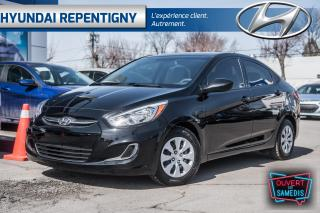 Used 2017 Hyundai Accent GL 4 PORTES**A/C, BLUETOOTH, GROUPE ÉLECTRIQUE** for sale in Repentigny, QC