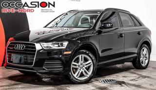 Used 2017 Audi Q3 Komfort quattro CUIR+TOIT.OUVRANT+SIEGES.CHAUFFANT for sale in Boisbriand, QC