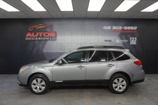 Used 2011 Subaru Outback 2.5i AWD AUTOMATIQUE MAGS SIÈGES BLUETOOTH 209 940 for sale in Lévis, QC