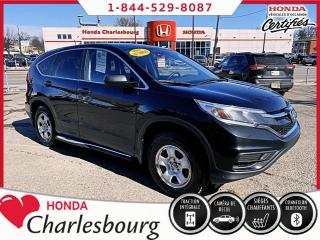 Used 2016 Honda CR-V LX AWD **UN PROPRIÉTAIRE**0 ACCIDENT** for sale in Charlesbourg, QC