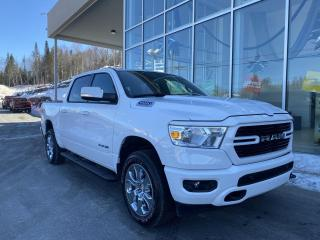 Used 2020 RAM 1500 BIG HORN , DIFF 3.92 , ÉCRAN 8.4' , APPL for sale in Ste-Agathe-des-Monts, QC
