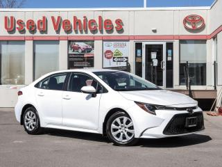 Used 2020 Toyota Corolla LE AWD HEAT-SEAT ALLOYS REV-CAM 1-OWNER LOW-KMS for sale in North York, ON