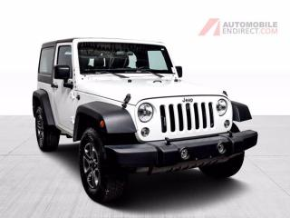 Used 2018 Jeep Wrangler SPORT 4X4 A/C for sale in Île-Perrot, QC