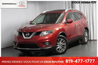 Used 2015 Nissan Rogue SL  ** TOIT PANORAMIQUE + CAMÉRA 360 ** for sale in Drummondville, QC