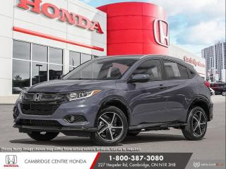 New 2021 Honda HR-V Sport PUSH BUTTON START | APPLE CARPLAY™ & ANDROID AUTO™ | HONDA SENSING TECHNOLOGIES for sale in Cambridge, ON