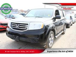 Used 2014 Honda Pilot 4WD 4DR LX for sale in Whitby, ON