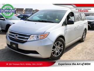 Used 2012 Honda Odyssey 4DR WGN EX-L W-RES for sale in Whitby, ON