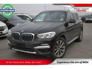 Used 2018 BMW X3 xDrive30i Sports Activity Vehicle for sale in Whitby, ON