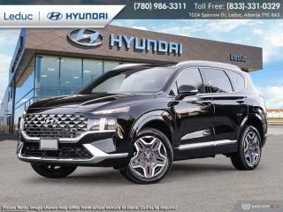 New 2021 Hyundai Santa Fe Ultimate Caligraphy for sale in Leduc, AB