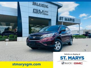 Used 2015 Honda CR-V LX for sale in St. Marys, ON