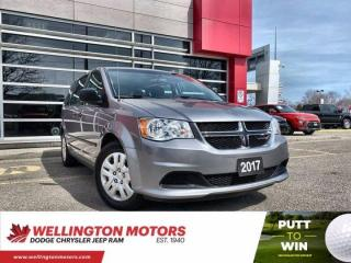 Used 2017 Dodge Grand Caravan Canada Value Package / Accident Free  ... for sale in Guelph, ON