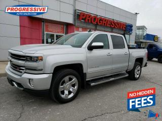 Used 2017 Chevrolet Silverado 1500 LEATHER / VENTED & HEATED SEATS / SUNROOF for sale in Sarnia, ON