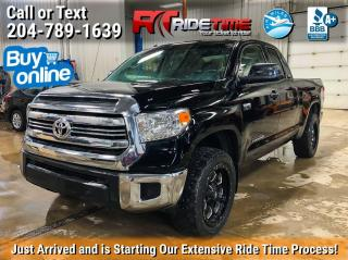 Used 2016 Toyota Tundra SR for sale in Winnipeg, MB
