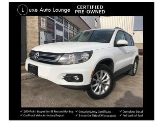 Used 2017 Volkswagen Tiguan Wolfsburg Edition-ONLY 54K! AWD, SUNROOF, LEATHER! for sale in Orleans, ON