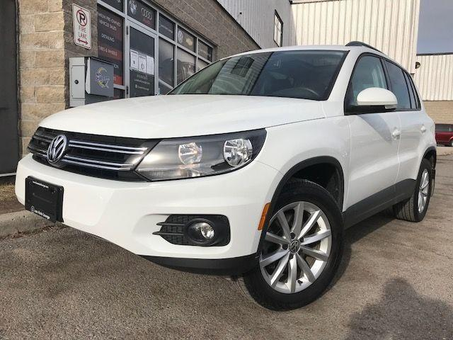 2017 Volkswagen Tiguan Wolfsburg Edition-ONLY 54K! AWD, SUNROOF, LEATHER!