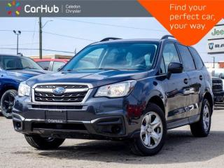 Used 2017 Subaru Forester i AWD Backup Camera Bluetooth Heated Front Seats Keyless Entry for sale in Bolton, ON