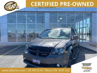 Used 2019 Dodge Grand Caravan GT | Leather | Navigation | Power Seats | DVD for sale in Tilbury, ON