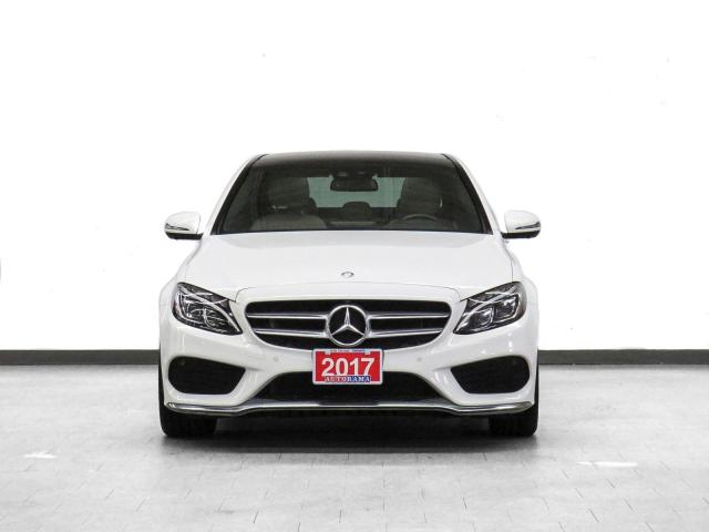 2018 Mercedes-Benz C300 4Matic Navigation Leather PanoRoof Backup Cam