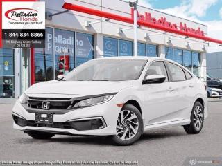 New 2021 Honda Civic Sedan EX for sale in Sudbury, ON