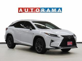 Used 2017 Lexus RX 350 F-Sport AWD Navigation Leather Sunroof Bcam for sale in Toronto, ON