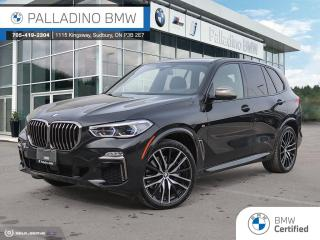 Used 2020 BMW X5 M50i Premium Excellence Package, Ventilated Seats, Massage Function, Harmon Kardon Sound System for sale in Sudbury, ON
