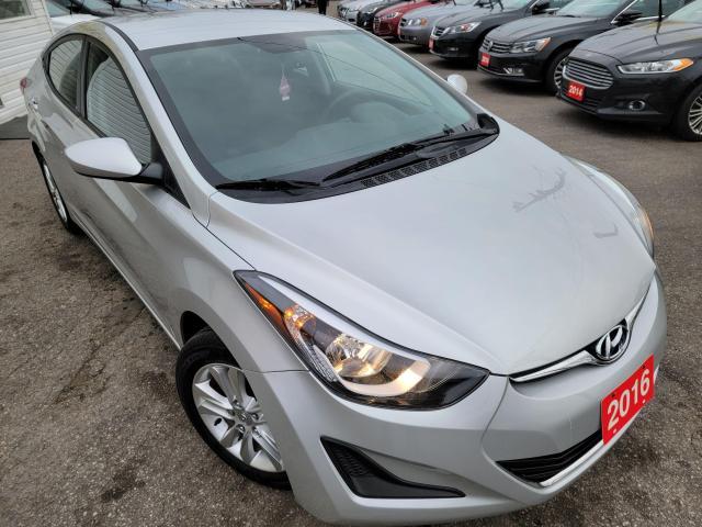 2016 Hyundai Elantra GL/CAMERA/LOADED/ALLOYS/LOW KMS