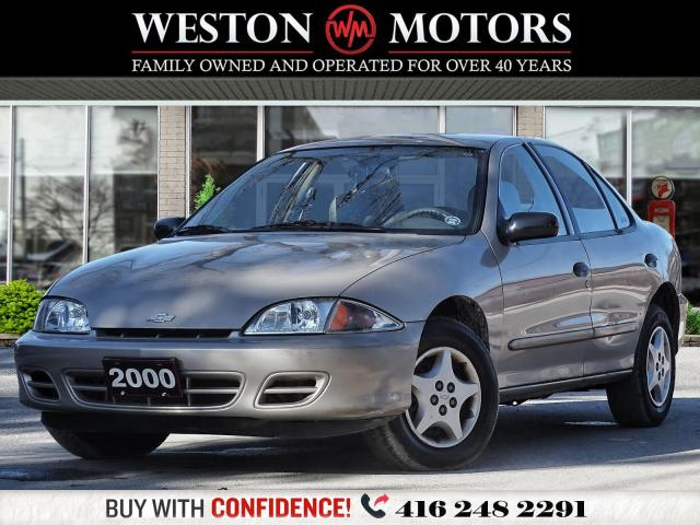 2000 Chevrolet Cavalier LOCAL TRADE*SOLD AS IS!