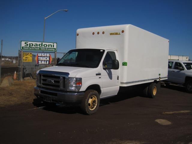 2015 Ford Econoline Gas  E-450  Cube Van