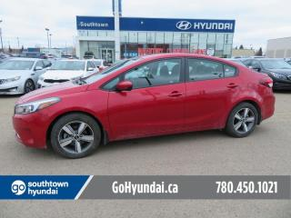 Used 2018 Kia Forte LX/BLUETOOTH/HEATED SEATS/POWER OPTIONS for sale in Edmonton, AB