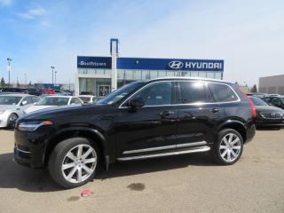 Used 2017 Volvo XC90 Hybrid Insciption/HYBRID/NAV/PANO ROOF/LEATHER for sale in Edmonton, AB