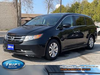 Used 2014 Honda Odyssey EX/ RES|DVD|Back up Camera/CARFAX Accident free! for sale in Brantford, ON