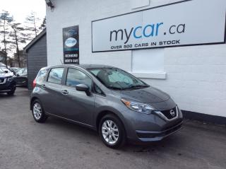 Used 2018 Nissan Versa Note 1.6 SV ALLOYS, HEATED SEATS, BACKUP CAM, BLUETOOTH!! for sale in Richmond, ON