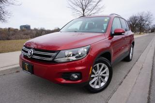 Used 2014 Volkswagen Tiguan 1 OWNER / NO ACCIDENTS / NAVIGATION / STUNNING SUV for sale in Etobicoke, ON