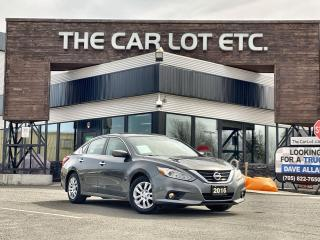 Used 2016 Nissan Altima 2.5 S PUSH START!! STEERING WHEEL CONTROLS!! for sale in Sudbury, ON