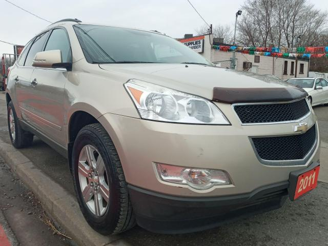 2011 Chevrolet Traverse 1LT-EXTRA CLEAN-7 SEATS-BLUETOOTH-AUX-ALLOYS
