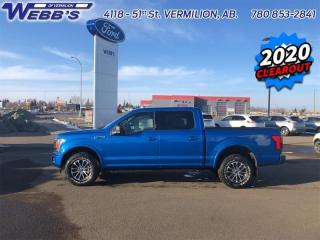 New 2020 Ford F-150 XLT for sale in Vermilion, AB