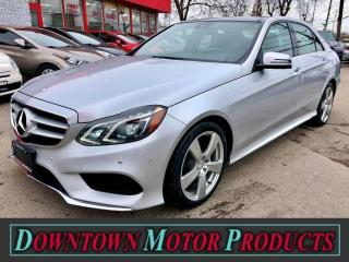 Used 2015 Mercedes-Benz E-Class E 250 BlueTEC 4Matic Sport for sale in London, ON