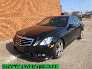 Used 2010 Mercedes-Benz E350 RWD E350/NAVIGATION/CAMERA /SAFETY AND WARRANTY for sale in Oakville, ON