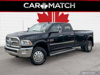 Used 2018 RAM 3500 LARAMIE / DUALLY /  DIESEL / NO ACCIDENTS for sale in Cambridge, ON