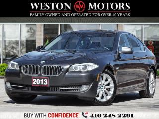 Used 2013 BMW 5 Series 528i XDRIVE*2.0L*LEATHER*SUNROOF*360 CAM*NAVI for sale in Toronto, ON