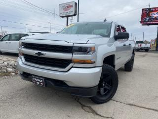 Used 2018 Chevrolet Silverado 1500 4X4|CrewCab|BackupCam|Bluetooth|BedLiner for sale in London, ON