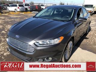 Used 2016 Ford Fusion SE 4D Sedan 2.0L for sale in Calgary, AB