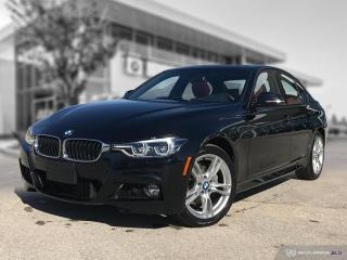 Used 2018 BMW 3 Series 330i xDrive M SPORT EDITION! RED LEATHER! for sale in Winnipeg, MB