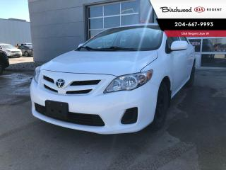 Used 2012 Toyota Corolla CE |**As Traded**| Local Vehicle | Low Kilometers | for sale in Winnipeg, MB