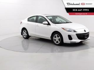 Used 2013 Mazda MAZDA3 GS Sky | Low Km's | Locally Owned | Remote Start | Sunroof | Heated Seats | for sale in Winnipeg, MB