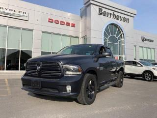Used 2017 RAM 1500 QUAD CAB SPORT 4X4 for sale in Ottawa, ON